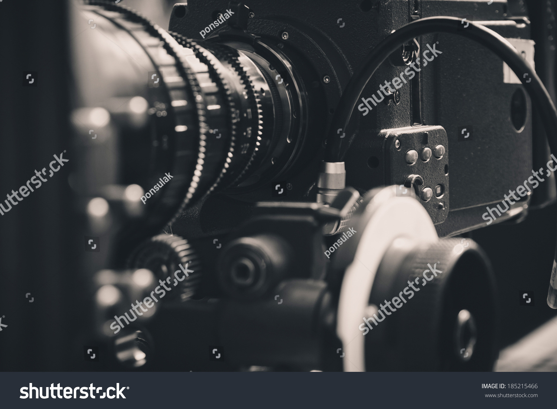 Close Up Of Professional Digital Video Camera Stock Photo ...