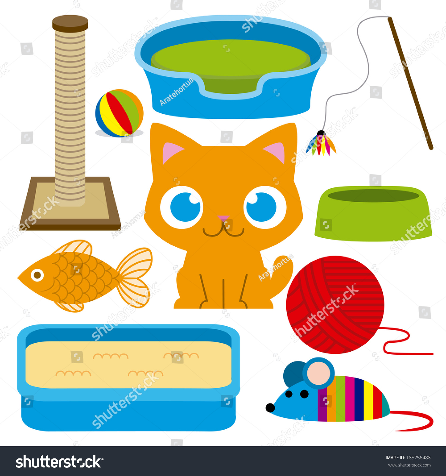 clipart cat toys - photo #18