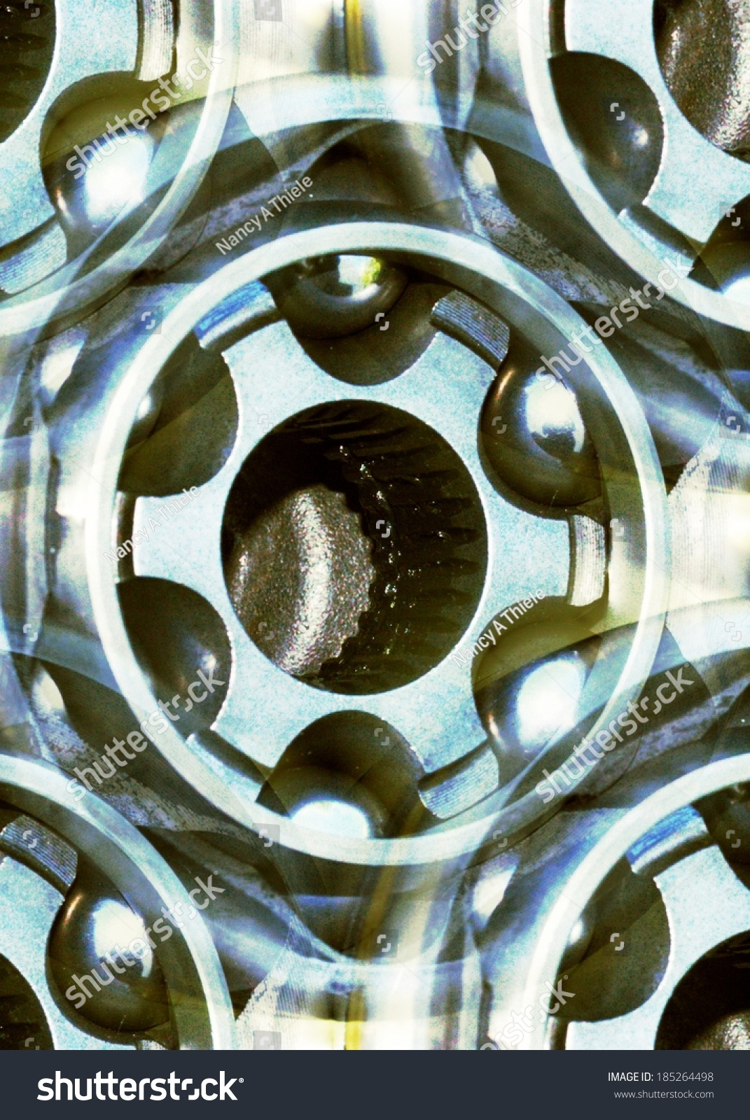 automotive cv joint abstract background stock photo