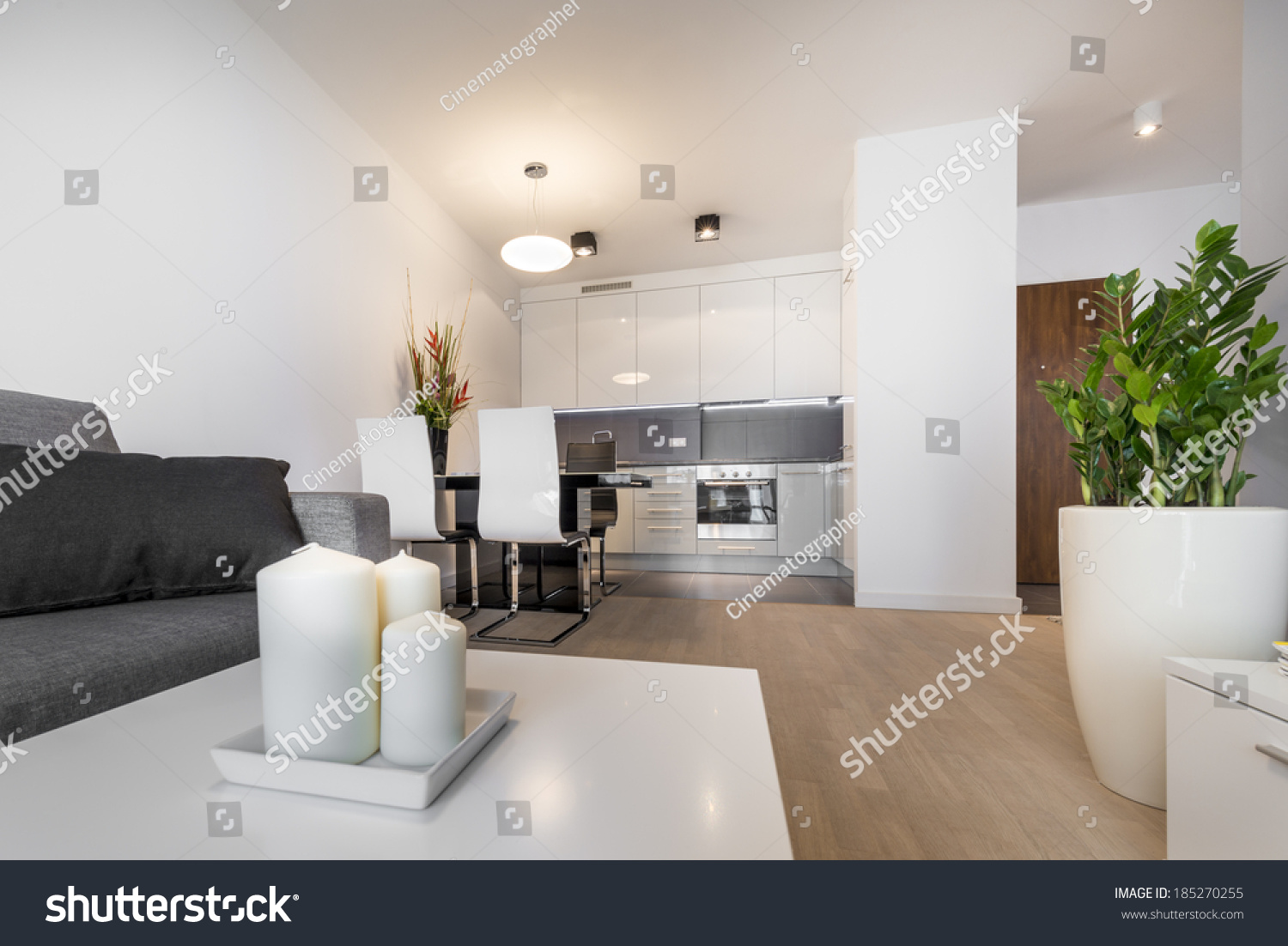 Modern Luxury Living Room Interior Design Stock Photo (Royalty Free ...