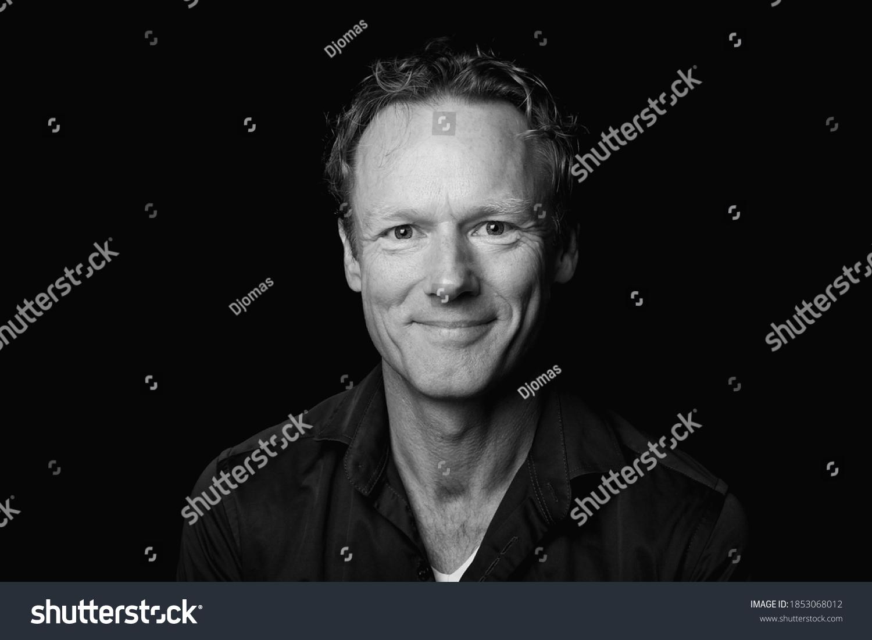 Portrait of a beautiful man #1853068012