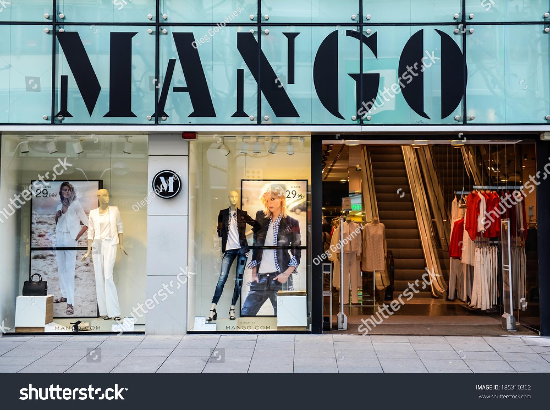 stuttgart germany april 01 2014 mango store mango is an international clothing design. Black Bedroom Furniture Sets. Home Design Ideas