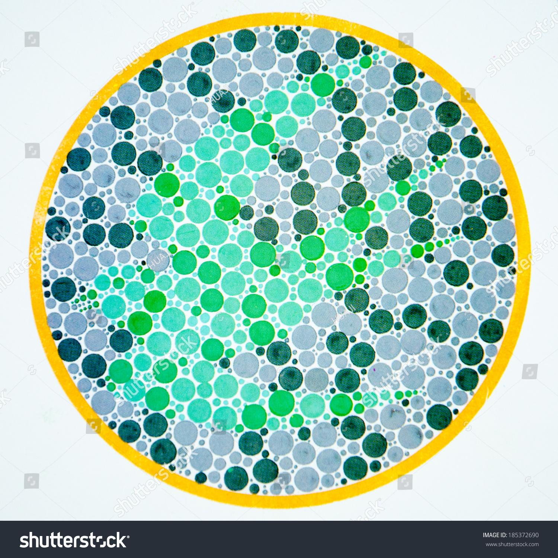 Mild Color Blindness Test Eye Colour Blue Green Male