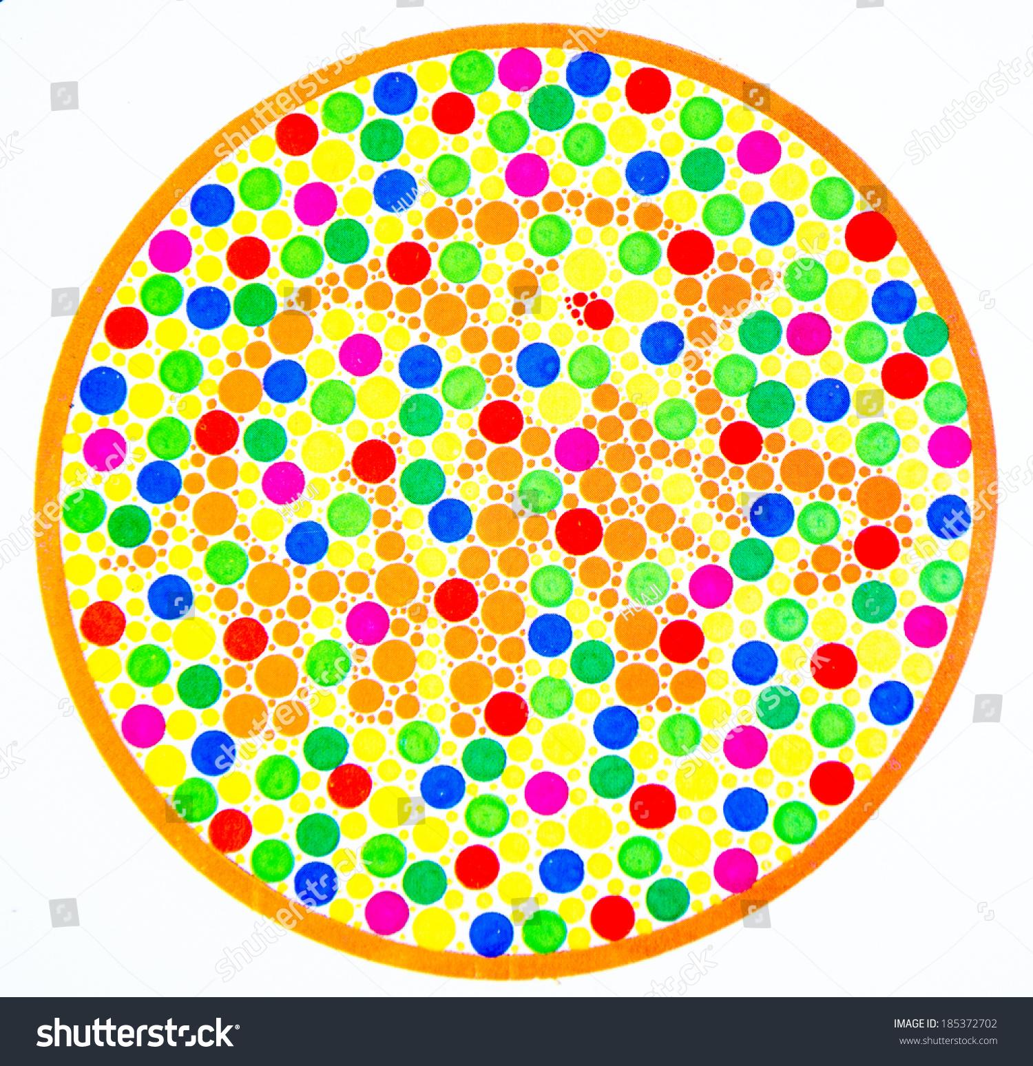 Color Blind Test Elephant Stock Illustration Shutterstock