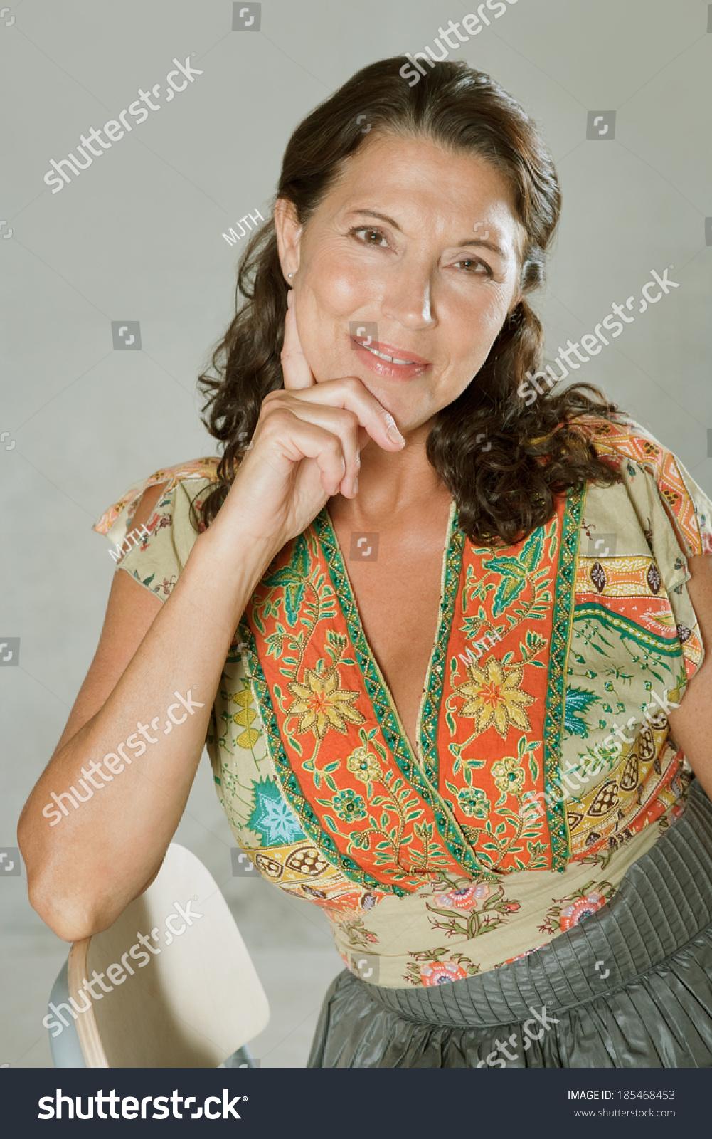 Attractive mature women