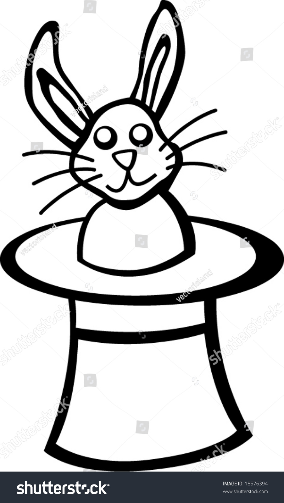 The magic coloring book trick - Rabbit In Hat Magic Trick