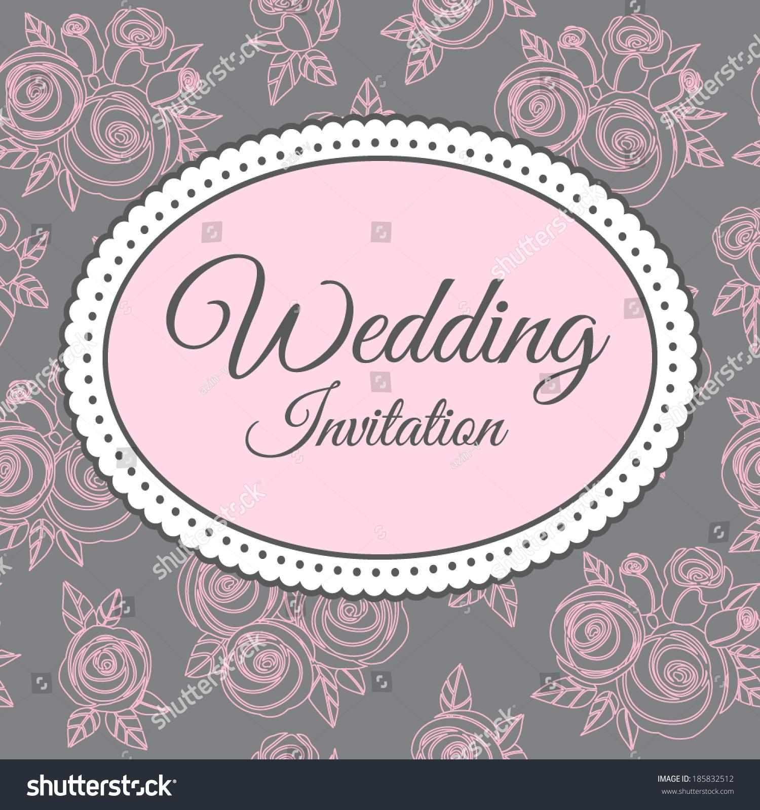 Wedding Invitation Vector as luxury invitations ideas