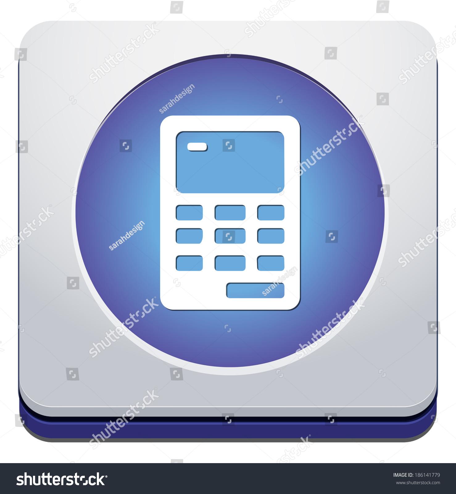 Web element calculator icon