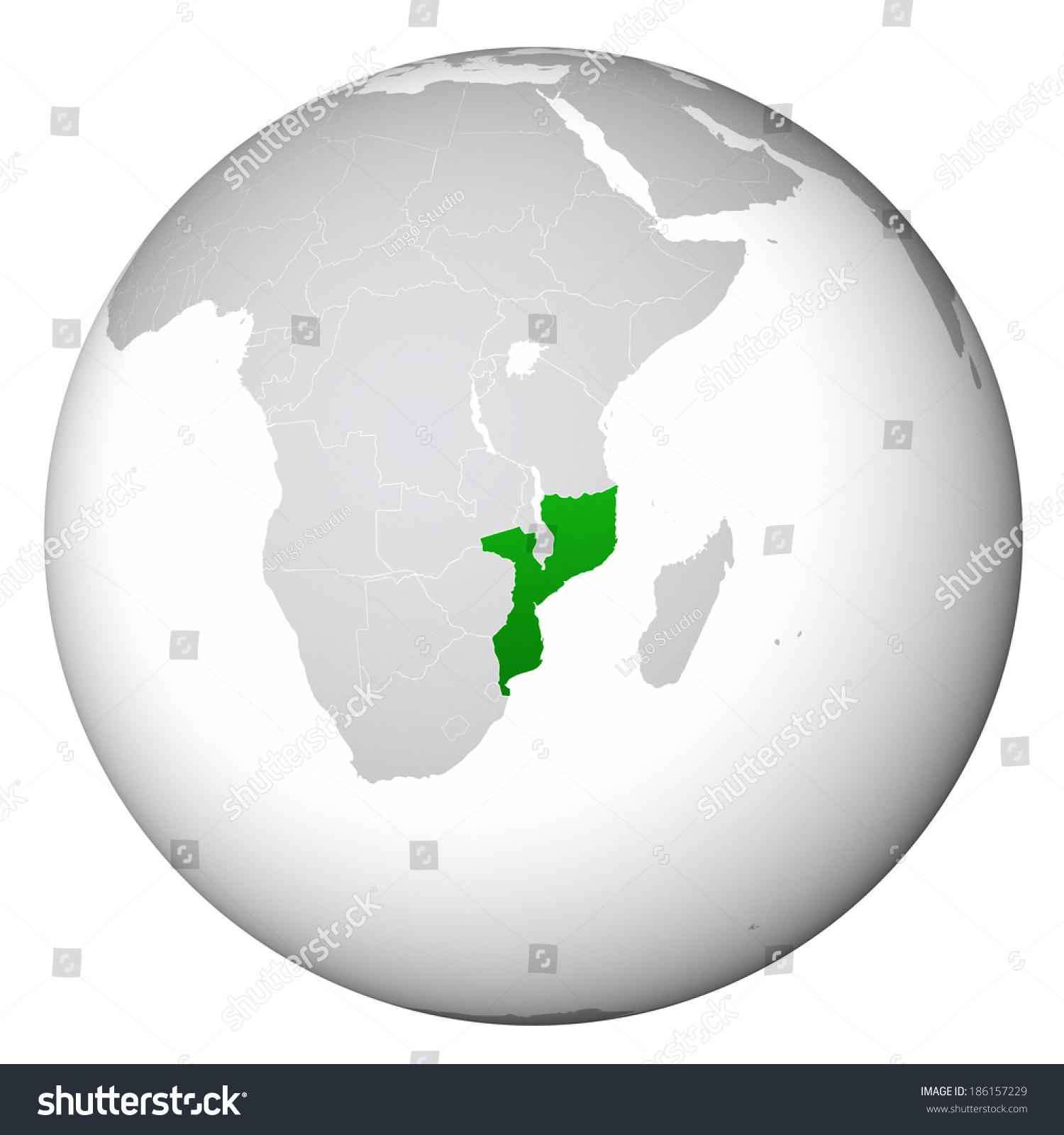 World map mozambique stock illustration 186157229 shutterstock world map mozambique gumiabroncs Image collections