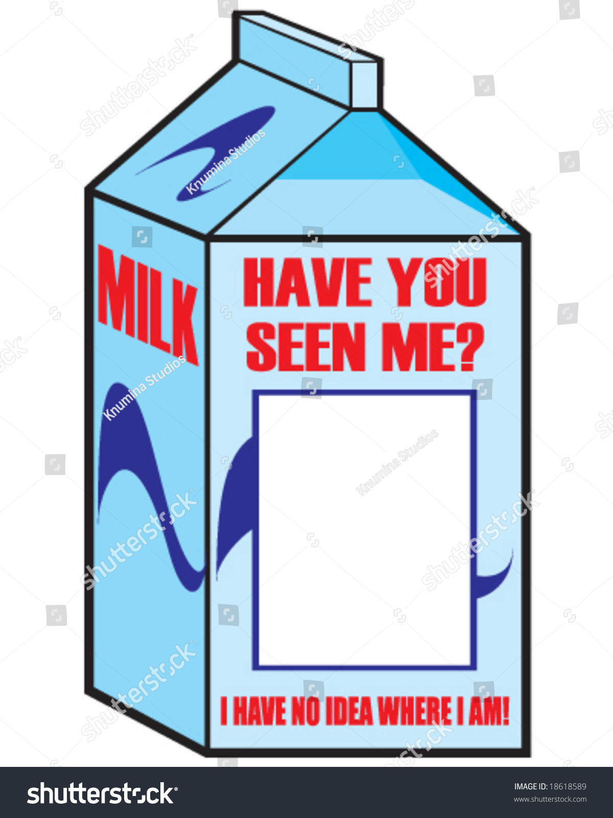 Have You Seen Me Sign