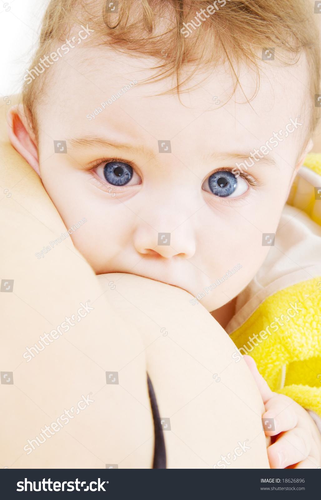 Mommy suck baby boy