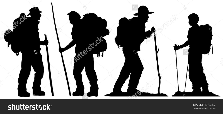 hiking silhouette desktop wallpaper - photo #27