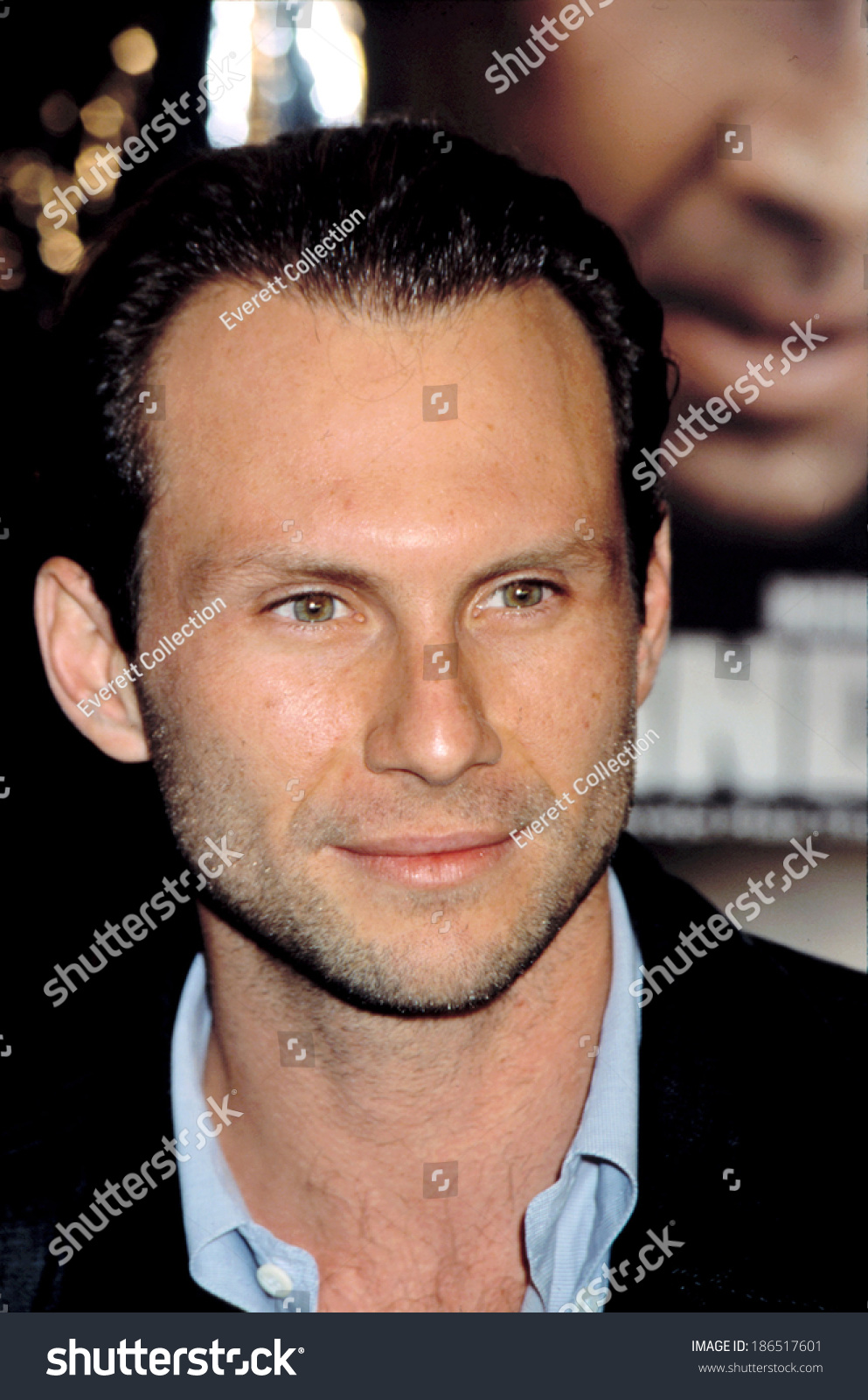 Christian Slater At Premiere Of Windtalkers Ny 662002 Ez Canvas