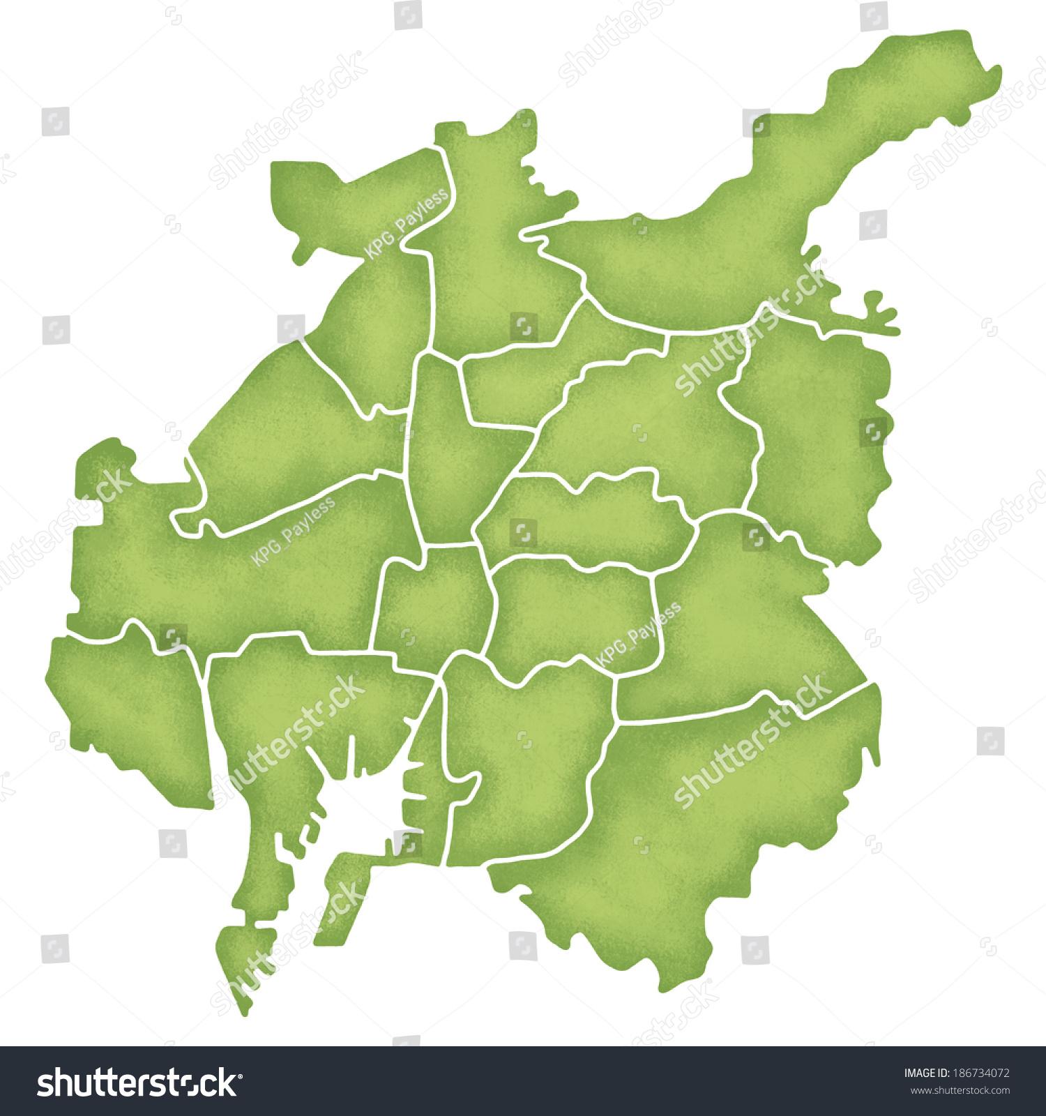 Map nagoya japan stock illustration 186734072 shutterstock map of nagoya japan gumiabroncs Images