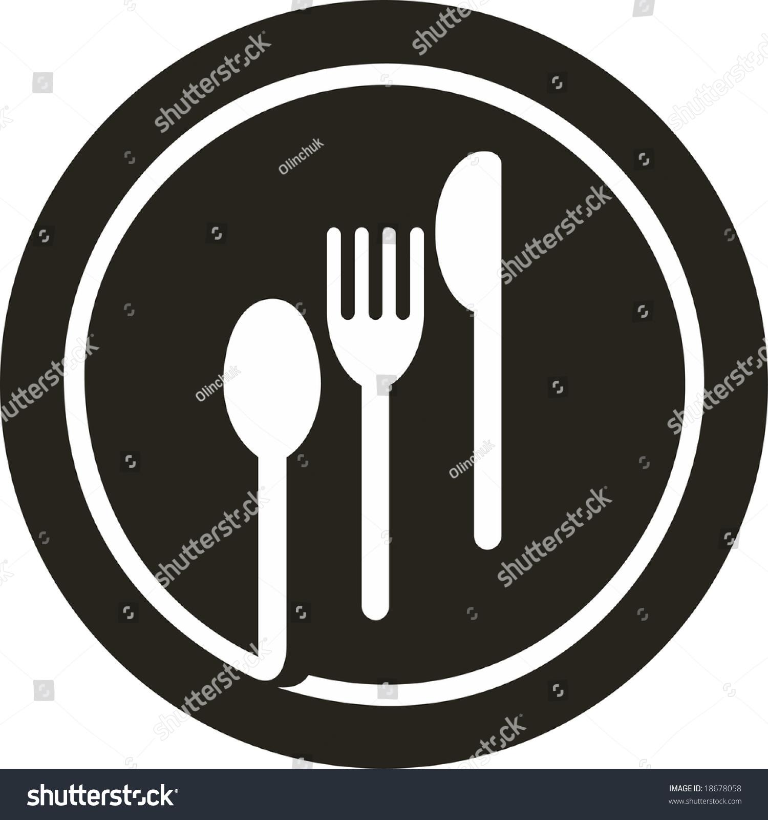 Pictures Of Fork And Knife Symbol Kidskunstfo