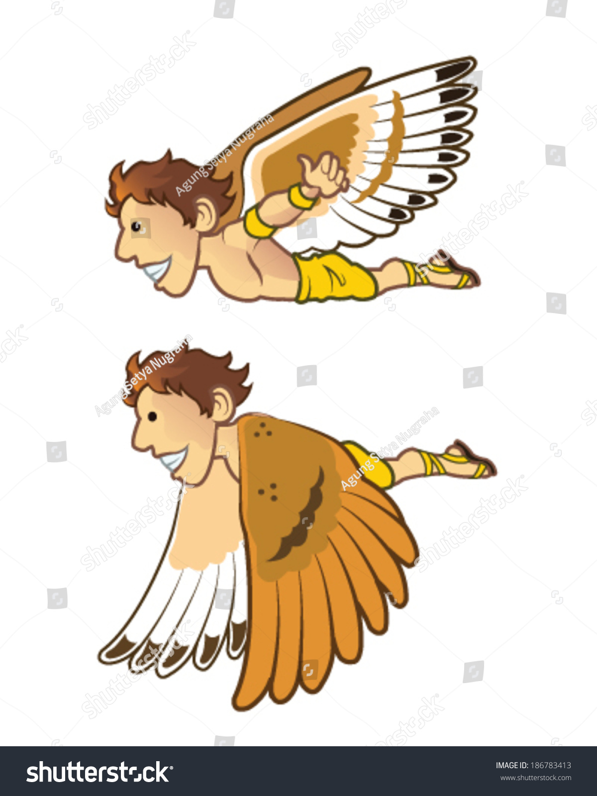 Daedalus And Icarus Clipart | www.imgkid.com - The Image ...