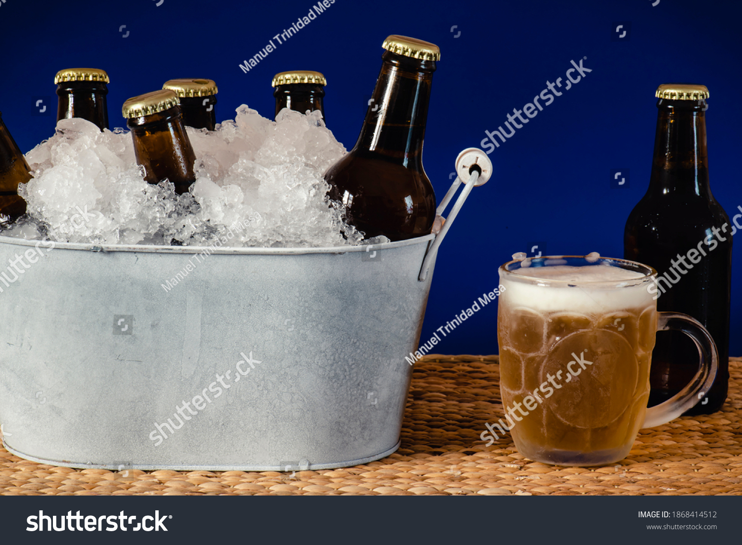 stock-photo-bottles-of-cold-beer-in-a-zi
