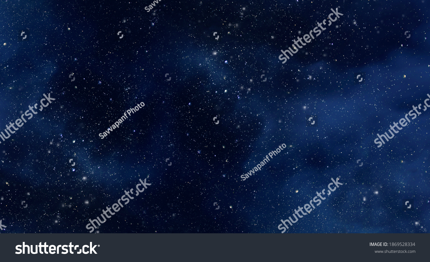 Large picture of starry sky with constellation, night sky as texture or background #1869528334