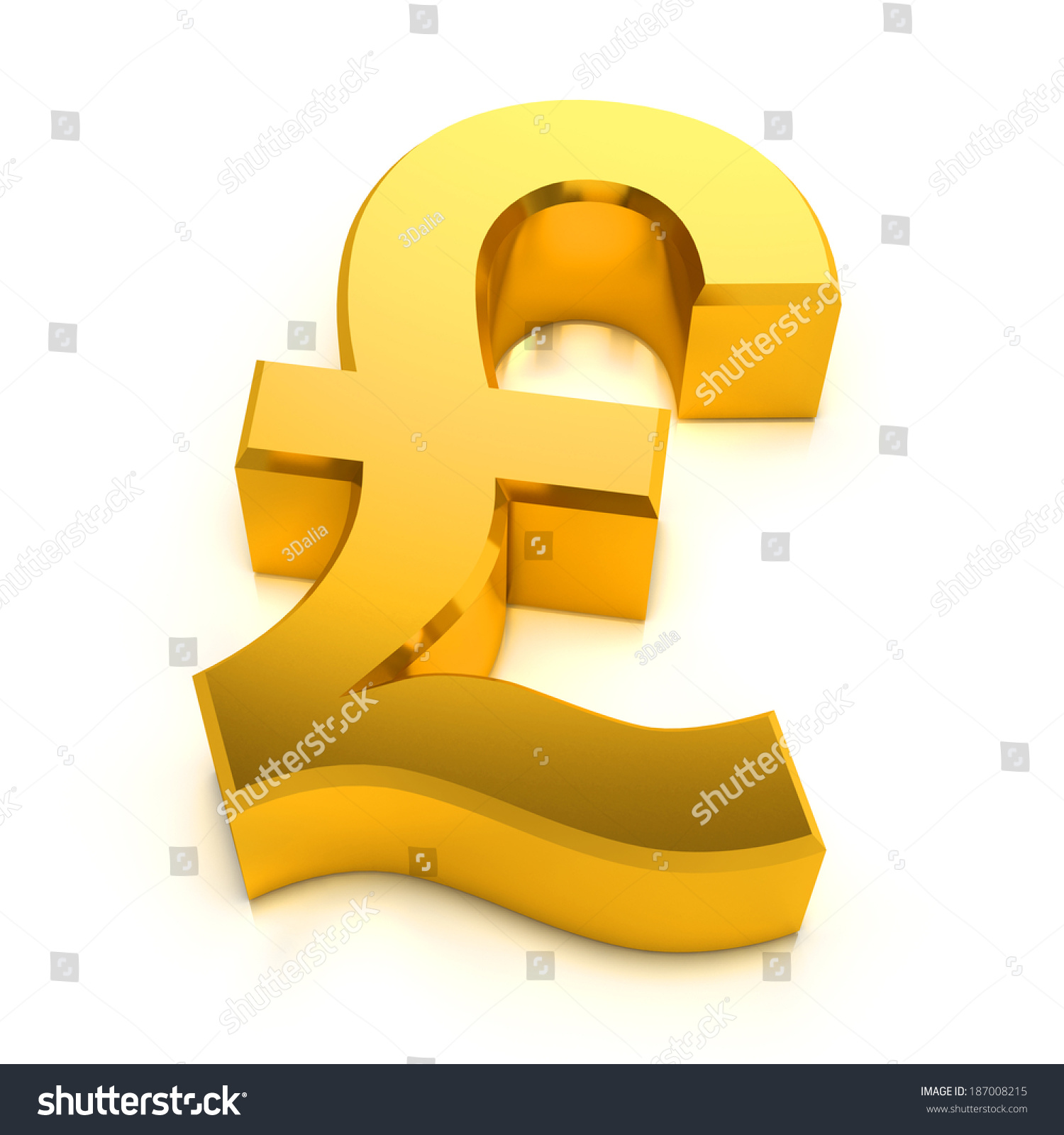 3d render golden uk pound symbol stock illustration 187008215 3d render of a golden uk pound symbol buycottarizona