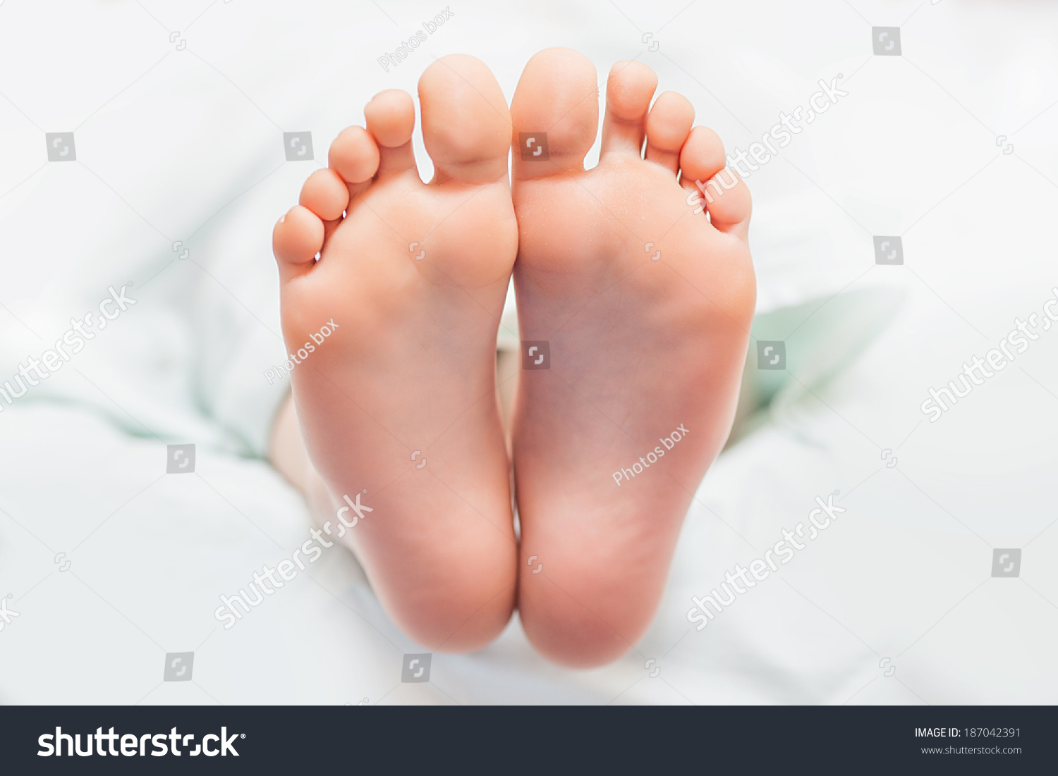 young feet
