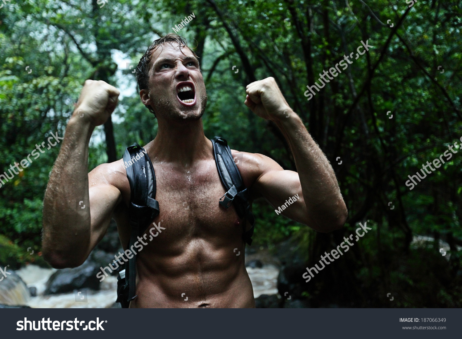 Image result for picture of dark haired man in jungle