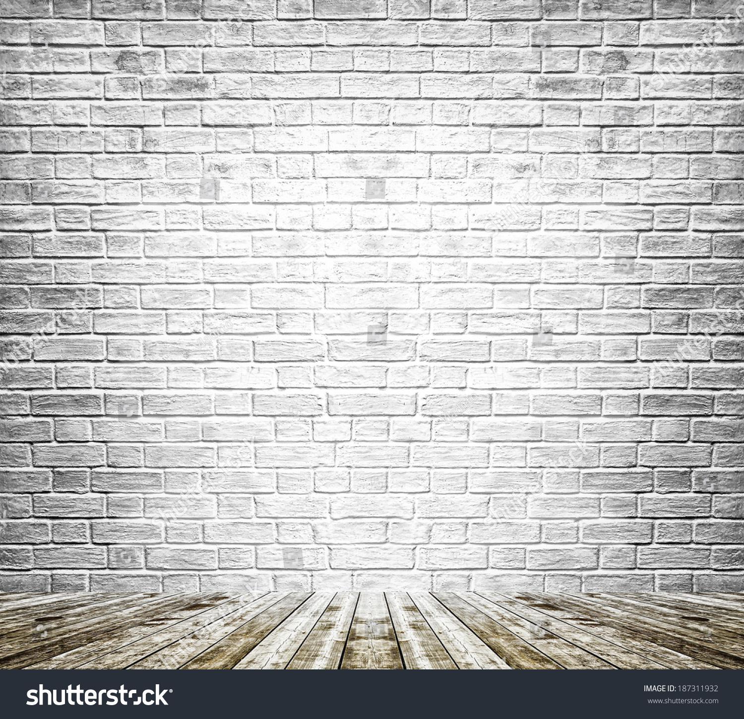 Stone And Wood Make A Dark Masculine Interior: Background Age Grungy Black White Texture Stock Photo
