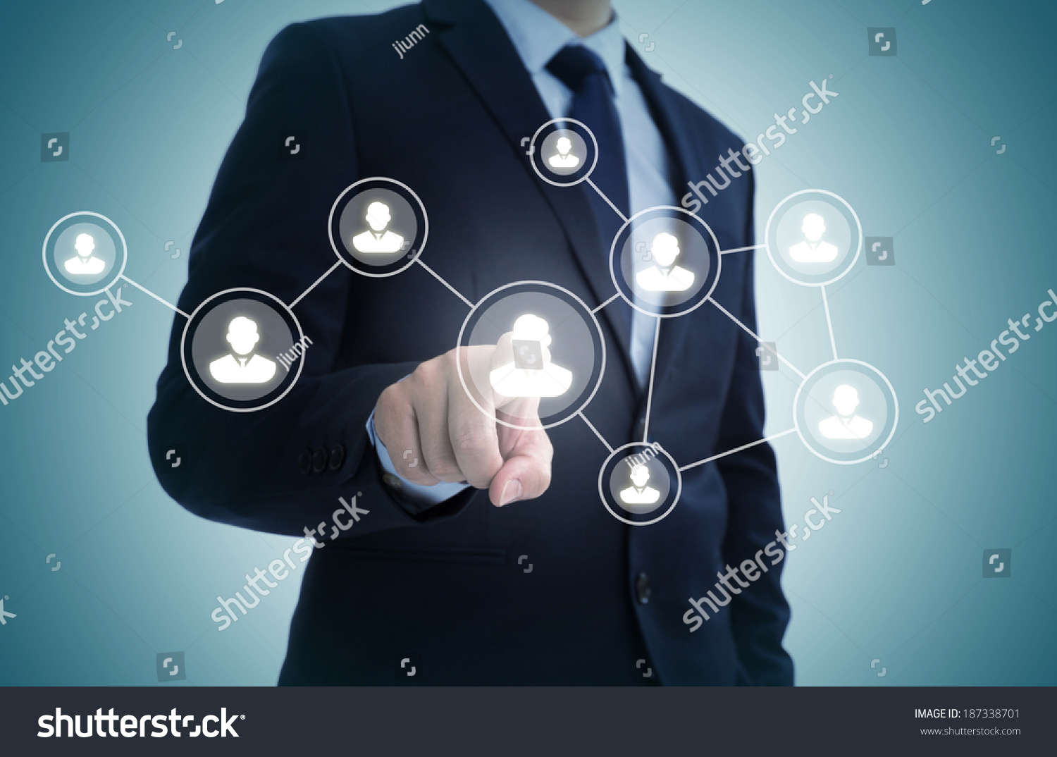 Social Gathering Symbols On Touch Screen Stock Photo Royalty Free