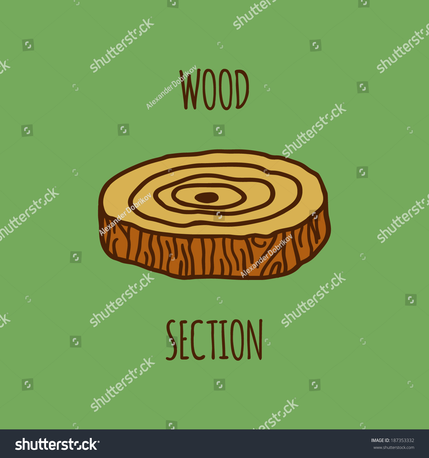 Wood section illustration stump sign nature stock vector 187353332 wood section illustration stump sign nature stock vector 187353332 shutterstock buycottarizona Choice Image