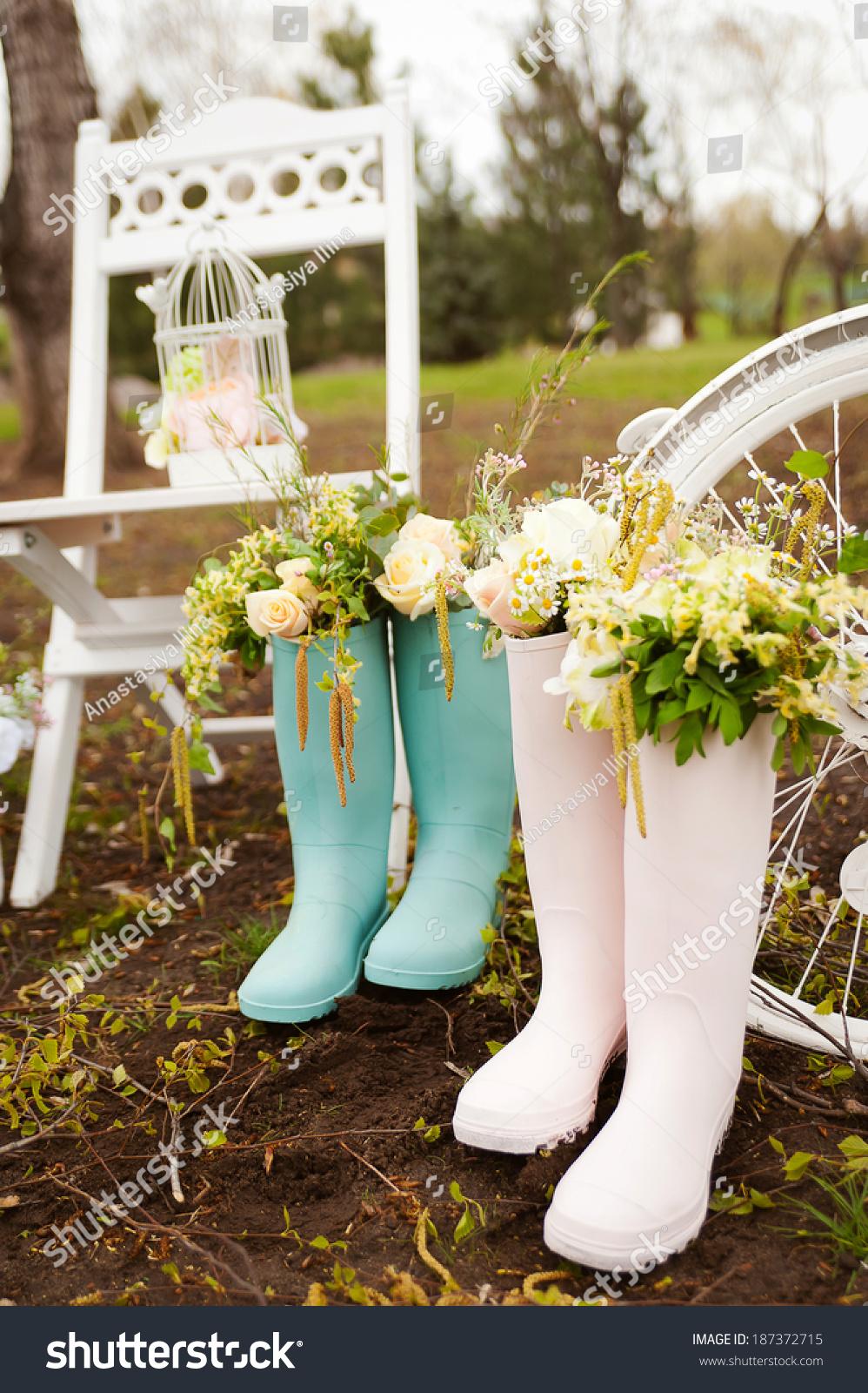 Wedding Decor Style Provence Stock Photo Edit Now 187372715