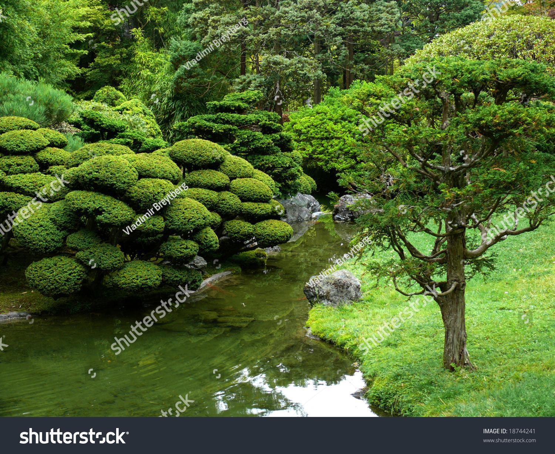 The Japanese Tea Garden In Golden Gate Park San Francisco Stock Photo 18744241 Shutterstock