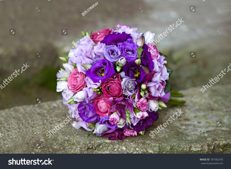 Wedding bouquet bouquet colorful fresh flowers stock photo edit now wedding bouquet bouquet of colorful fresh flowers on natural background bridal bouquet izmirmasajfo