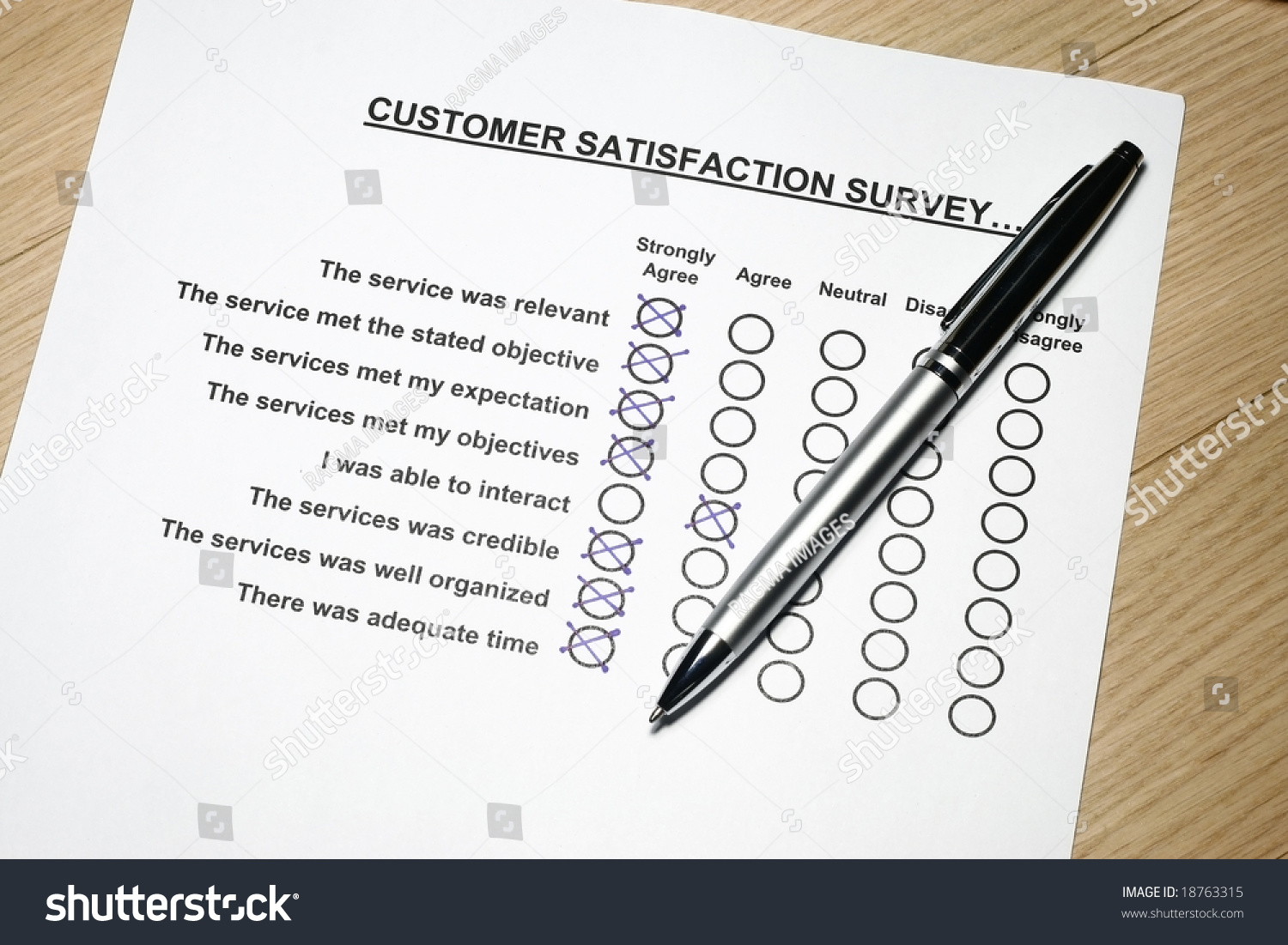 Customer Feedback Form Survey Concept Many Uses For Company Feedback