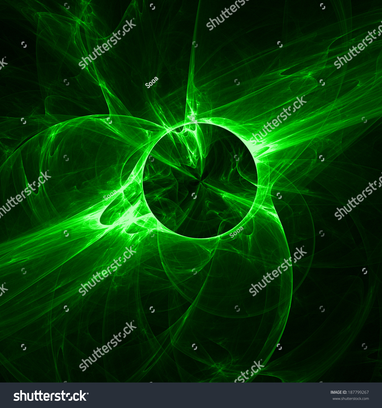 Green Light Effects Abstract Explosion Background Stock Illustration ... for Green Light Effects Background  76uhy