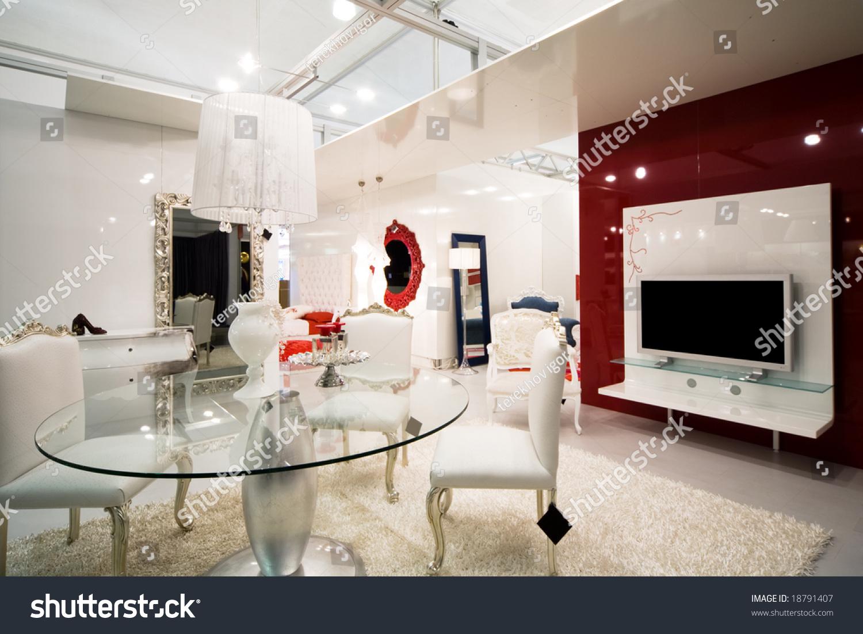 Beautiful And Modern Furniture In Furniture Store Stock Photo 18791407 Shutterstock