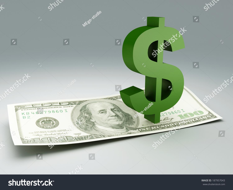 Dollar bill symbol stock illustration 187957043 shutterstock dollar bill and symbol buycottarizona