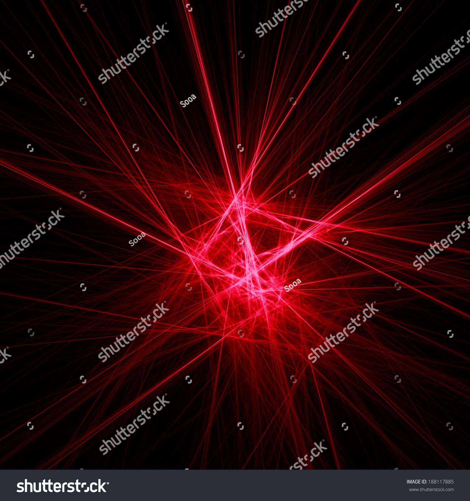 Red Light Effects Abstract Shine Wires Stock Photo 188117885 Shutterstock