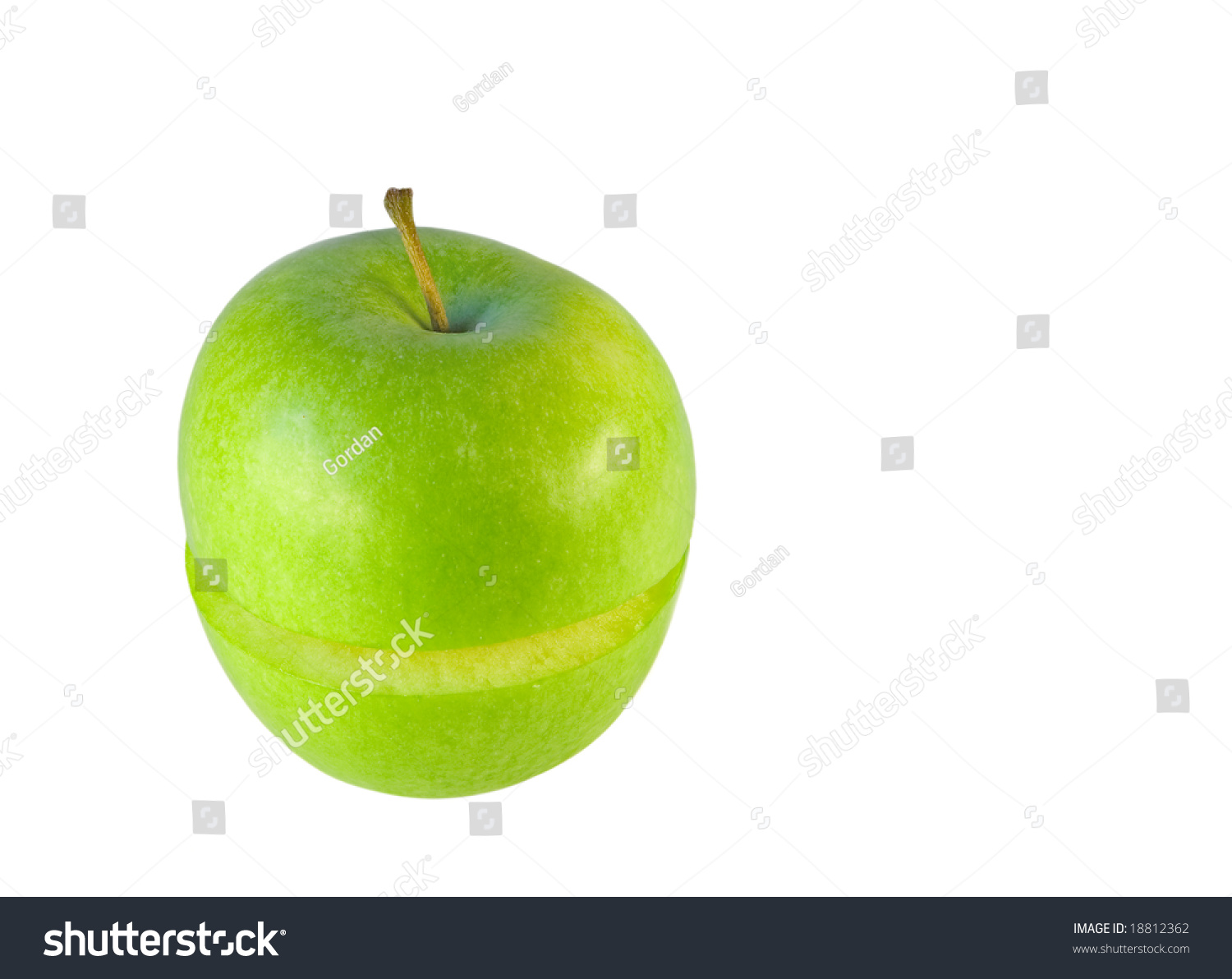 delicious green apple illustration - photo #43