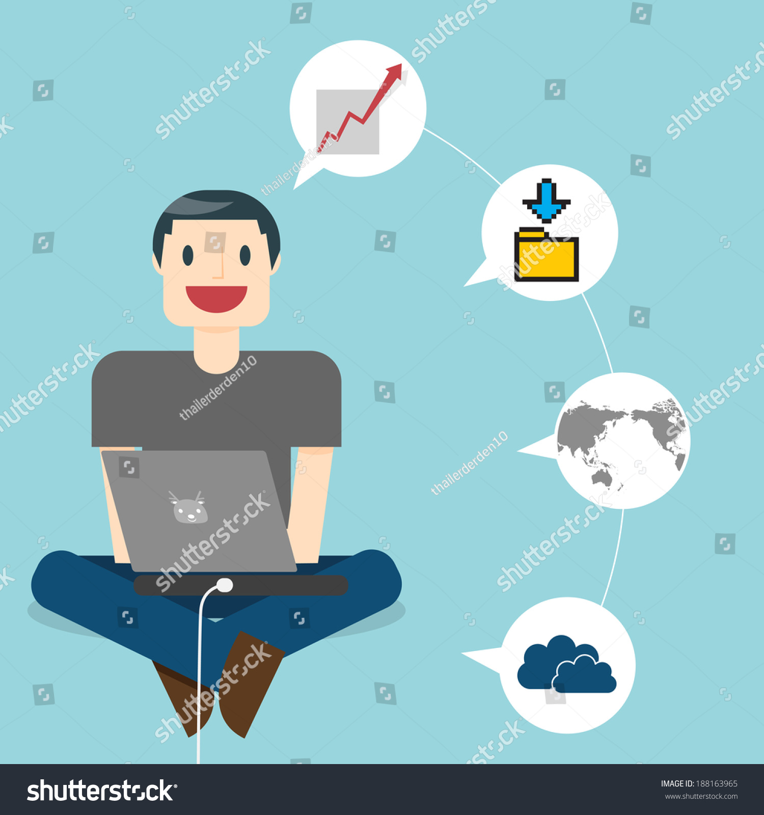 home office multitasking. delighful office work online man in the online space multitasking man working casual t intended home office