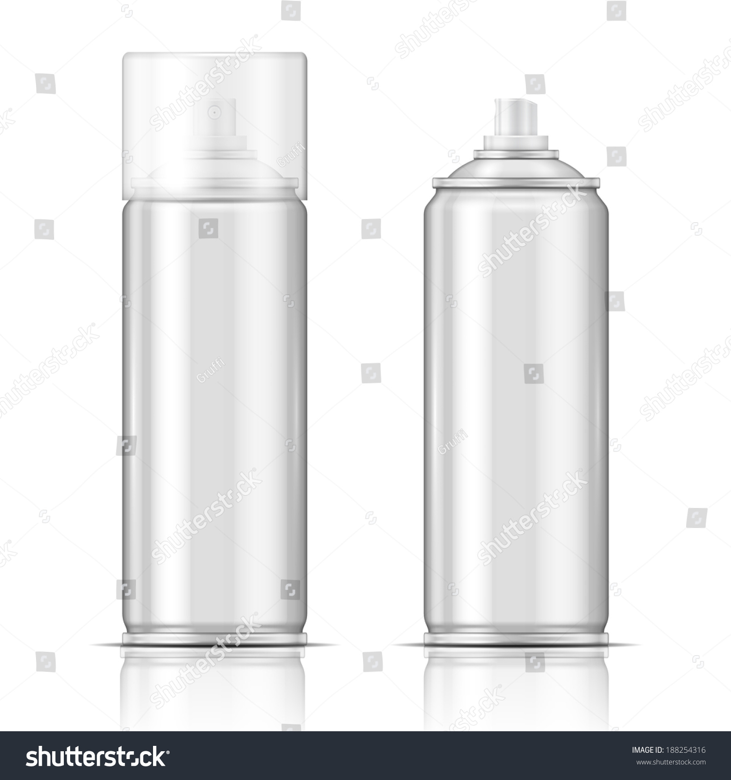 Clipart Images Of A Hair Spray Bottle