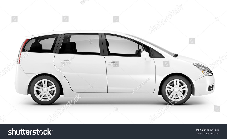 3 d white car stock photo edit now 188264888 shutterstock
