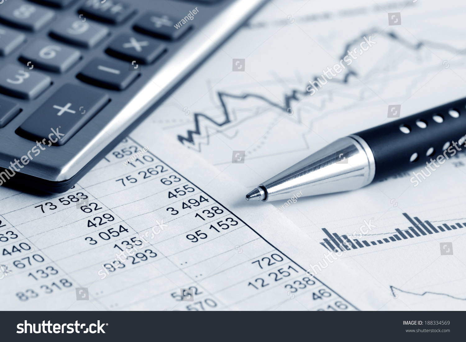 Financial Accounting Market Graphs Analysis Photo – Financial Analysis