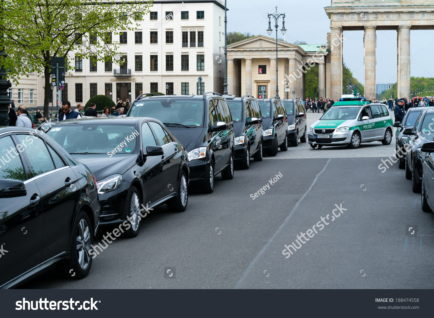 cf80253d35 BERLIN GERMANY APRIL 11 2014 Police Stock Photo (Edit Now) 188474558 ...