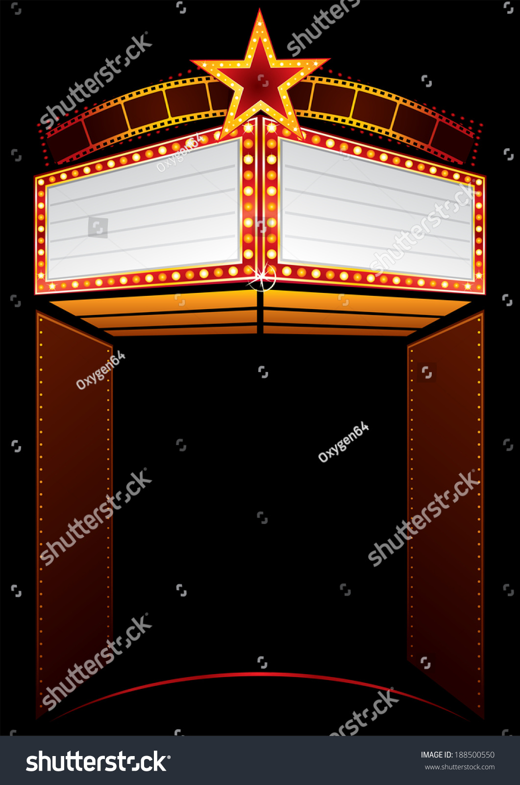 film premiere invitation template - movie premiere stock vector 188500550 shutterstock