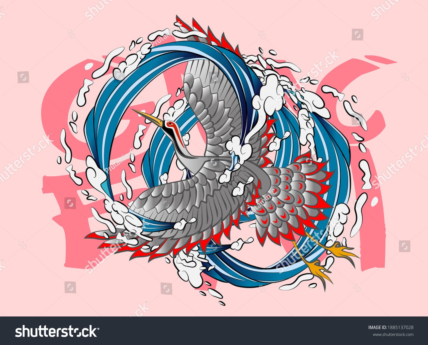 stock-vector-crane-illustration-design-f