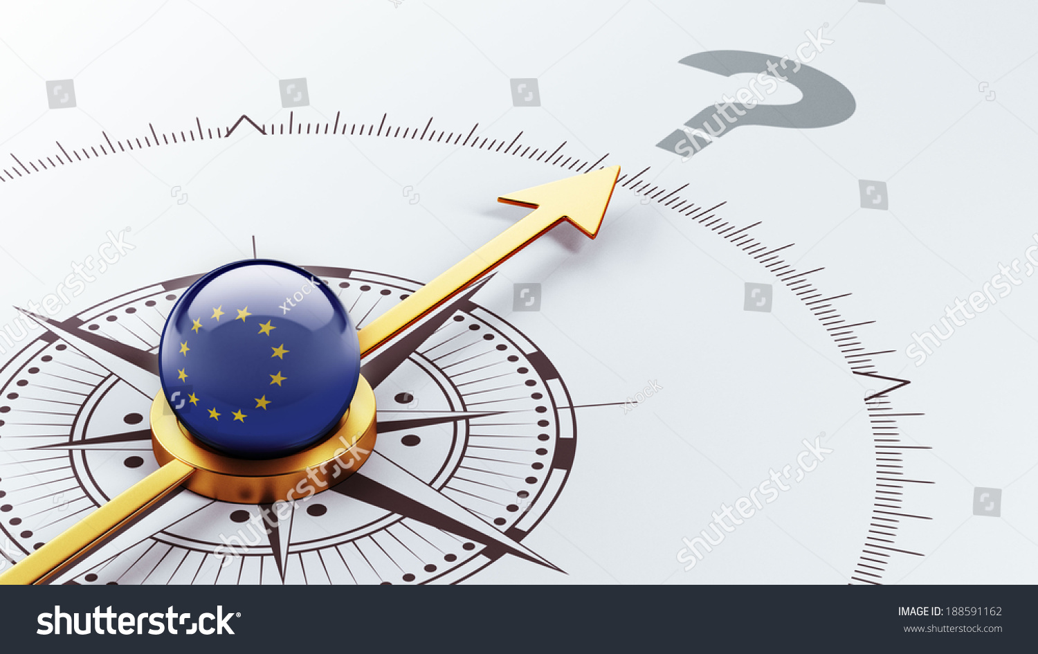 european union high resolution question mark stock