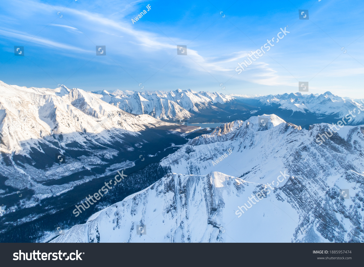 stock-photo-aerial-view-of-the-canadian-