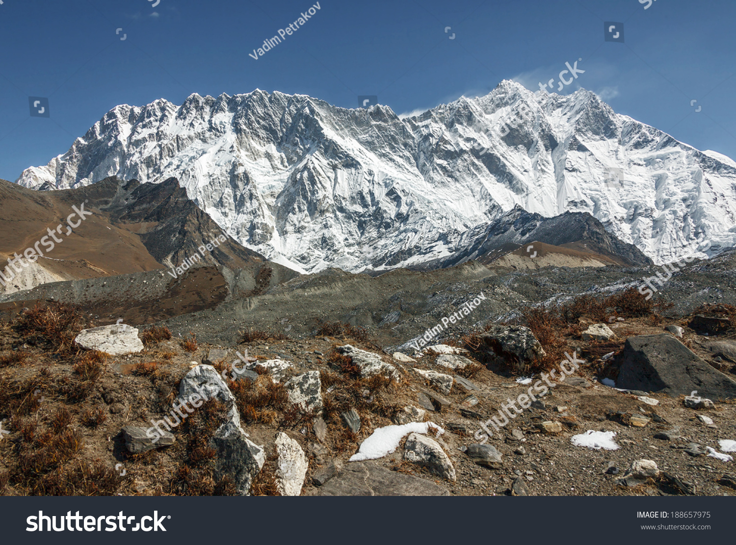 lhotse and peak Lhotse is the fourth highest mountain in the world at 8,516 metres (27,940 ft),  after mount everest, k2, and kangchenjunga part of the everest massif, lhotse  is connected to the latter peak via the.