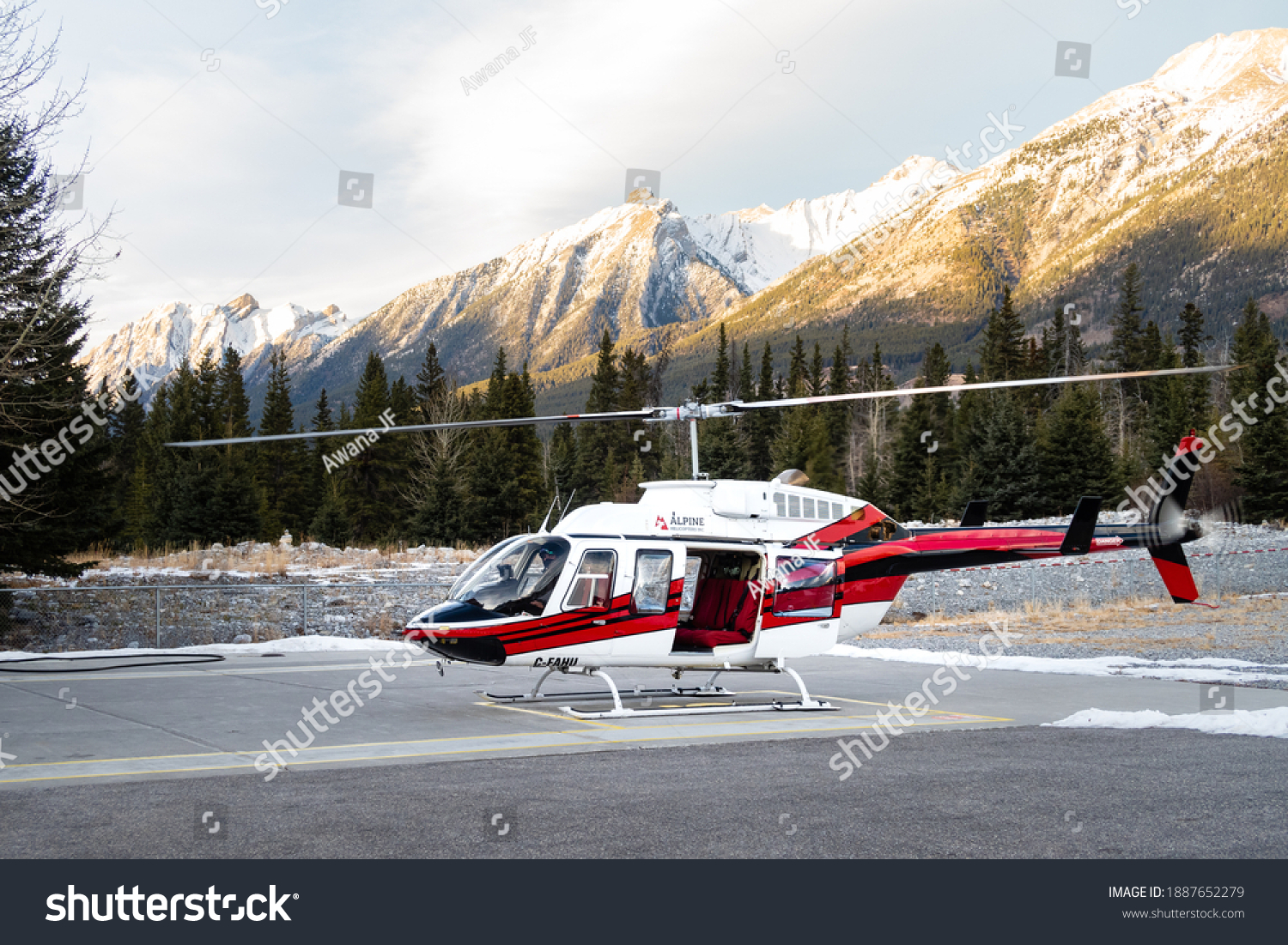 stock-photo-canmore-canada-december-heli