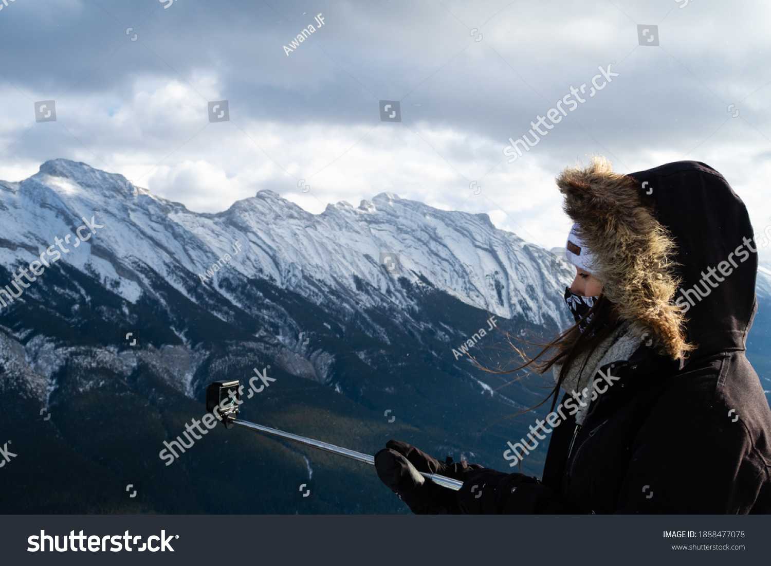 stock-photo-banff-canada-december-woman-
