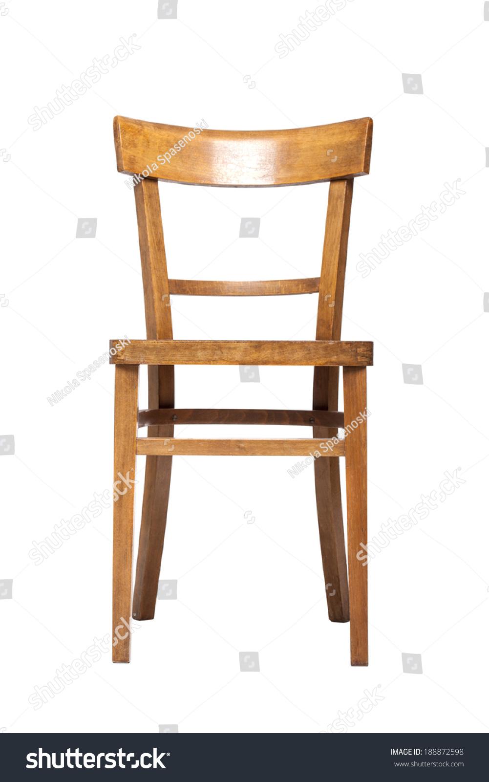 Empty Old Fashioned Wooden Chair Stock Photo 188872598 Avopixcom